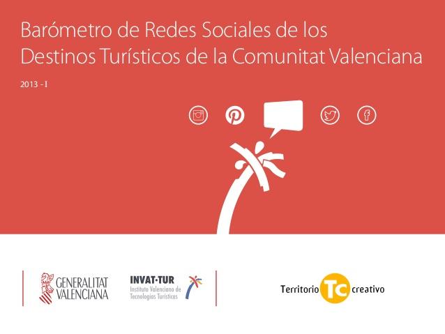 Barómetro de Redes Sociales y Destinos Turisticos de la Comunidad Valenciana