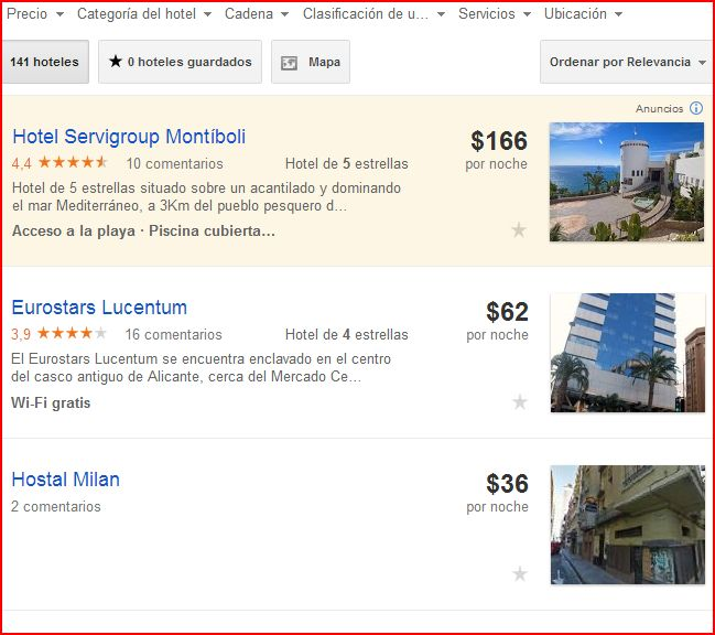 google hotel finder - hotel price ads alicante 2